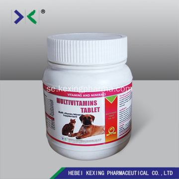Animal Multi-vitamin tabletter 3g